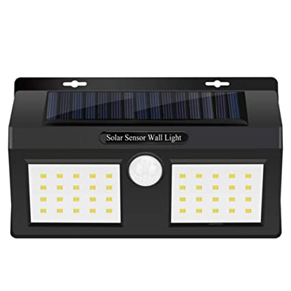 Seasaleshop Luz De Solar LED con Sensor De Movimiento Luces Solares Jardin IP65 Impermeable, Adecuado