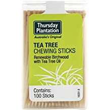 Nature's Plus Tea Tree Thursday Plantation Toothpicks, 100 Count