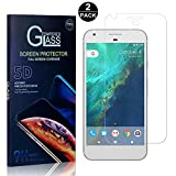 Google Pixel XL Tempered Glass Screen Protector, UNEXTATI® Screen Protector Film, HD Clear