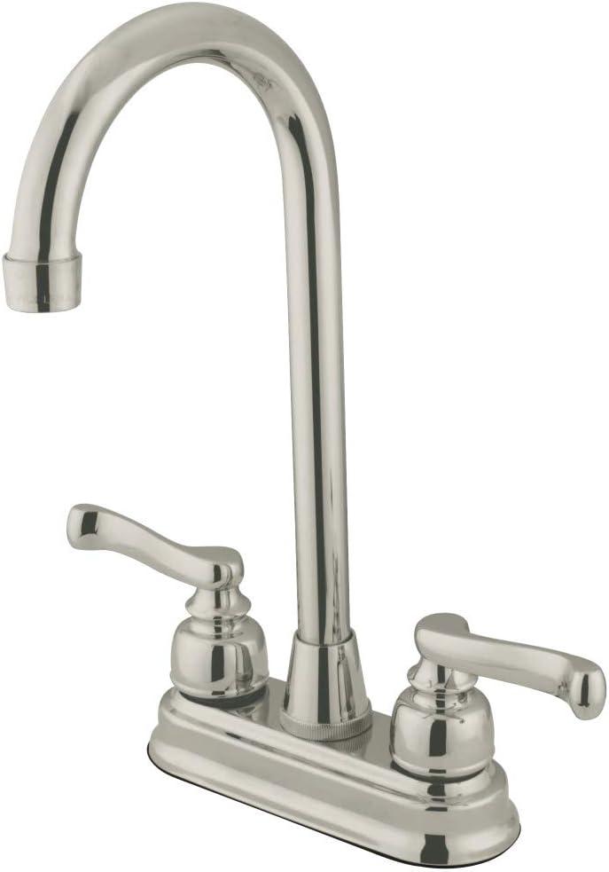 Kingston Brass KS8978DL Concord Pre-Rinse Pulldown Kitchen Faucet 10 Satin Nickel