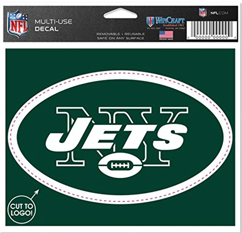 Jet Binder (Jets Multi-Use Decal - Removable and Reusable Football Sticker)