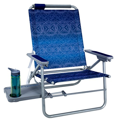 GCI Outdoor Waterside Big Surf Reclining Beach Chair with Side Table