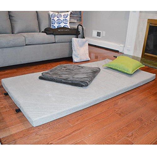 [NEW] Better Habitat SleepReady Memory Foam Floor Mattress (75 x 36''). [Roll out, Portable sleeping pad w/ waterproof cotton terry cover & travel bag] by Better Habitat (Image #4)