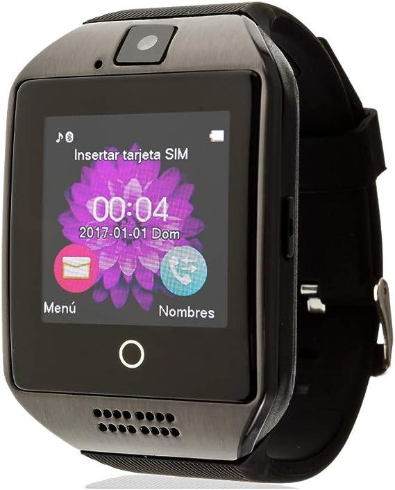 TEKKIWEAR. DMV085. Smartwatch Q18. Compatible con iPhone Y Android ...