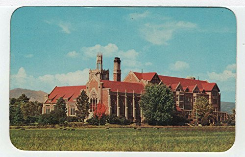 1950 Postcard - Holy Cross Abbey, Canon City, Colorado Vintage Original Postcard #3592 - 1950's