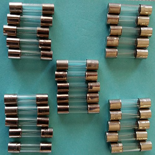 Fuses - 25 Pack - Christmas Holiday Lights C9 C7 5 Amp 12...