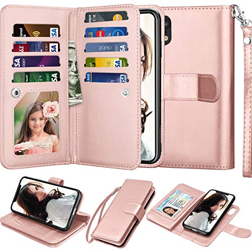 Njjex iPhone XR Wallet Case, For iPhone XR 6.1