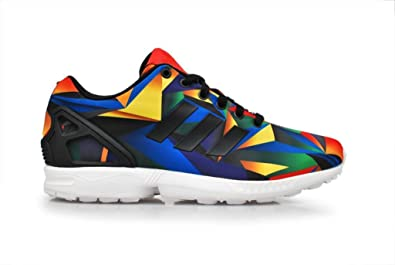 Adidas Flux Blue And Orange