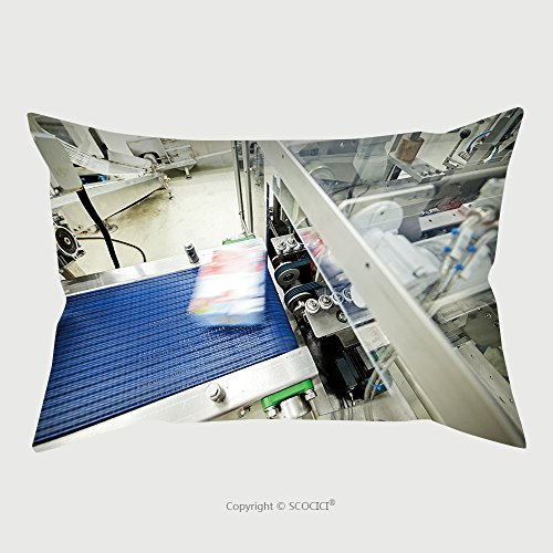 Custom Microfiber Pillowcase Protector Frozen Food Packing And Sorting Industry Equipment 358068620 Pillow Case Covers Decorative