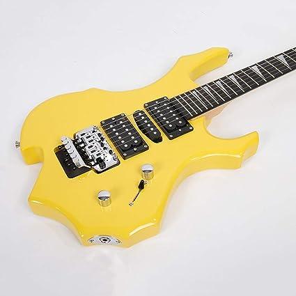 Miiliedy - Juego de guitarra eléctrica con diseño de llama, para ...