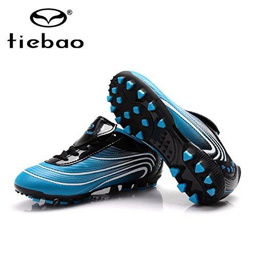 Byency (TM) Tiebao Professional Outdoor ragazzo e ragazza pattini a rotelle bambini  scarpe sportive bambino scarpe da calcio uomo Blue 8324 a 08f04080bb1