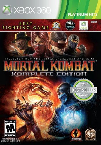 Mortal Kombat: Komplete Edition - Xbox 360 (Best Xbox 369 Games)