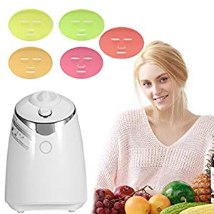 Face Mask Machine, Voice Broadcasting Full Automation DIY Natural Fruit Vegetable Facial Care Mask Maker Machine With FDA-certified
