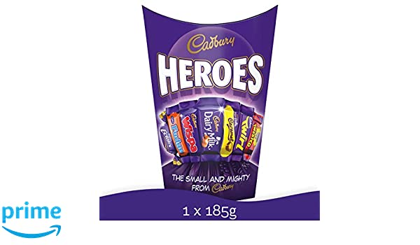 Cadbury Heroes Chocolate Mix - delicioso chocolate cremoso ...