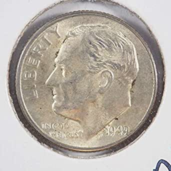 2010 S ROOSEVELT DIME GEM PROOF DCAM ROLL 50