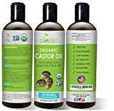 Castor Oil (16oz) USDA Organic Cold-Pressed, 100%...