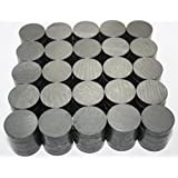 X-bet MAGNET ™ - Ceramic Industrial Magnets - Round Disc - Ferrite Magnets Bulk for Crafts, Science&hobbies - Grade 5 - 100pcs/box!
