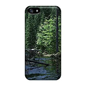 Brand New 5/5s Defender Case For Iphone (fallen Trees)