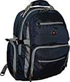 SwissGear Breaker Laptop Backpack With 16' Laptop Pocket & 10' Tablet Pocket-Blue