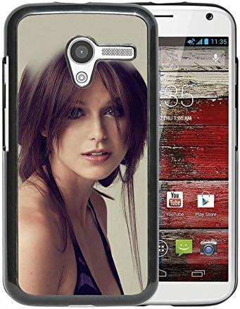 Amazon.com: Melissa Benoist Cute Sexy Girl Durable Motorola Moto X ...