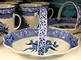 Spode Blue Room Collection Camilla Oval Bread Basket 10''