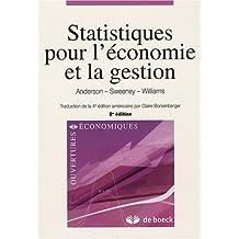 Statistiques pour éco./ges.2/e ouvertures econo.