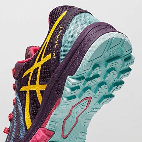 Asics Gel-Fujiattack 5, Zapatillas de Gimnasia para Mujer Morado