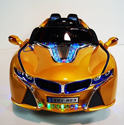 Bmw I8 12v Electric Ride On With Remote Control: BMW I8 Xmx 803 STYLE RIDE ON CAR REMOTE CONTROL 12V