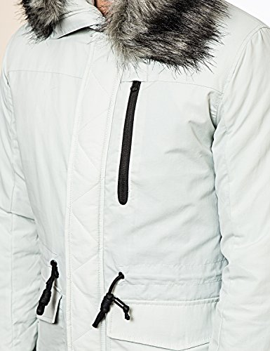 Foray - Parka à capuche fourrure - Manteau hiver - Doublé - Homme