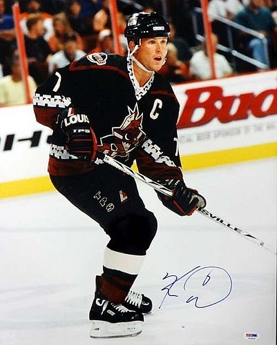- Keith Tkachuk Signed 16 x 20 Photograph Phoenix Coyotes - Certified Genuine Autograph By PSA/DNA - NHL Hockey Photograph