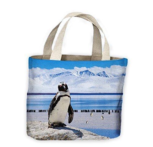 Tote Landscape Life For Antarctic Penguin Landscape Bag Penguin Shopping Shopping Antarctic Tote B6PdTEwPq