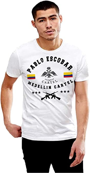 Ice-Tees Medellin Cartel 86 Pablo Escobar Drug Lord Sweat-shirt pour homme