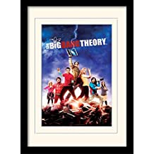 The Big Bang Theory Framed Collector Poster - Season 5, Notebook Flash (16 x 12 inches)