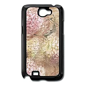 Galaxy Note 2 Cases Flowers Design Hard Back Cover Shell Desgined By RRG2G