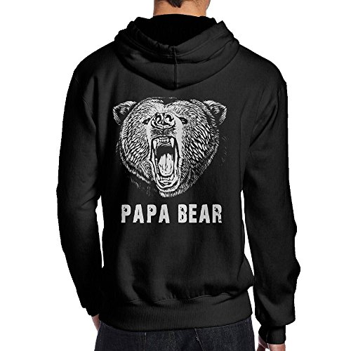 papa-bear-college-hoodies-sweatshirts-mens-black