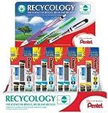 Pentel New Super Hi-Polymer Lead Refill Display Gray Assorted 48 Ct Practical (CD4C2579-3)