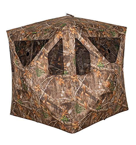 (Summit Vital 2-Person Ground Blind - Realtree Edge)
