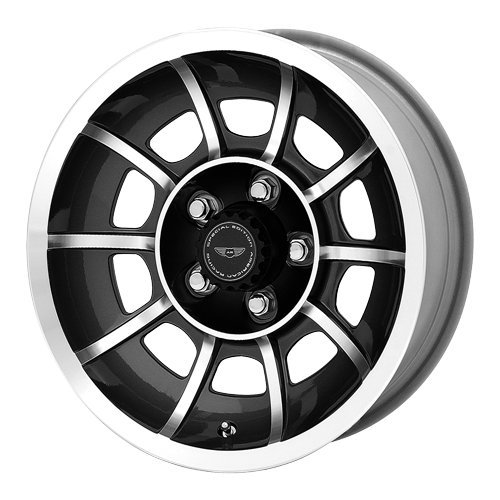 - American Racing VN47 Vector Anthracite Wheel with Machined Face (15x7