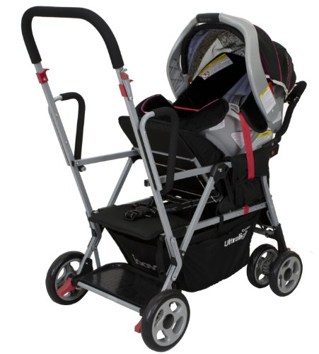 Amazon.com : Joovy Caboose Ultralight Stroller, Black : Tandem ...