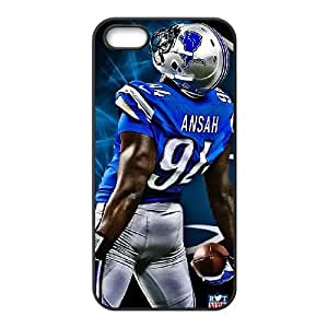 Detroit Lions iPhone 4 4s Cell Phone Case Black 218y3-141374
