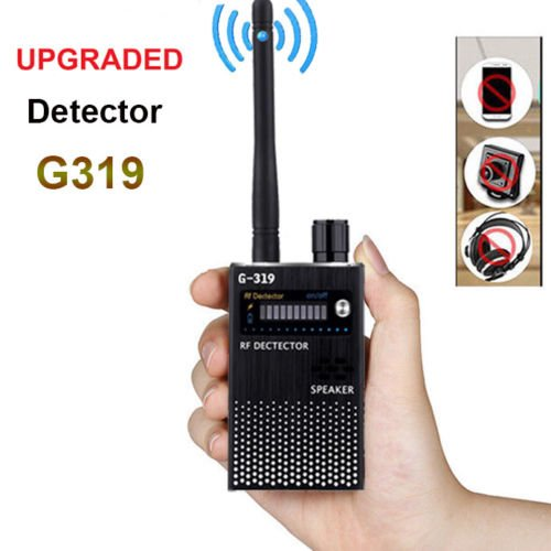 Anti-Spy Detector, RF Signal Spy Bug Camera Wireless Detector, RFWIN GPS Tracker Anti-Spy Amplification Device Finder for Hidden Camera Candid Camera (Newest Version) by RFWIN