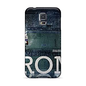For DNnqM8336IKrwN Dallas Cowboys Nfl Player Tony Romo Protective Case Cover Skin/galaxy S5 Case Cover