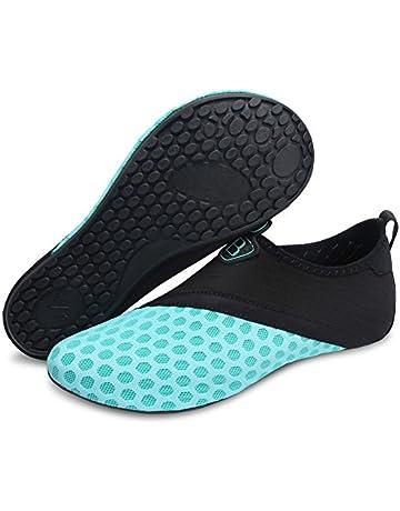 promo code 79c3c c1860 Barerun Barefoot Quick-Dry Water Sports Shoes Aqua Socks for Swim Beach  Pool Surf Yoga