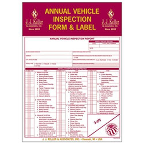 jj-keller-annual-vehicle-inspection-report-and-label-pack-of-10