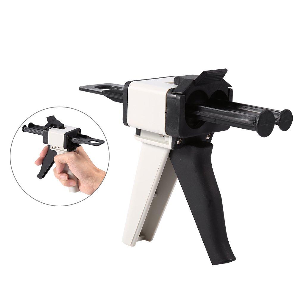 Dispensador de Mezcla de Impresión Dental 2: 1, 1: 1 Pistola de Dispensador de Silicona 50 ml: Amazon.es: Bricolaje y herramientas