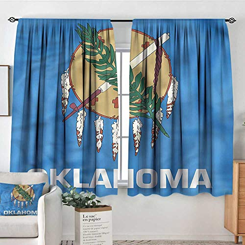 - RenteriaDecor American,Printed Backout Curtains Native Americans Oklahoma 72