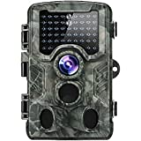 Trail Camera, 2018 Upgraded Distianert 1080P 16MP Hunting Game Camera, Wildlife Camera with Upgraded 850nm IR LEDs Night Vision 80ft, 2.4LCD IP56 for Home Security Wildlife Monitoring/Hunting