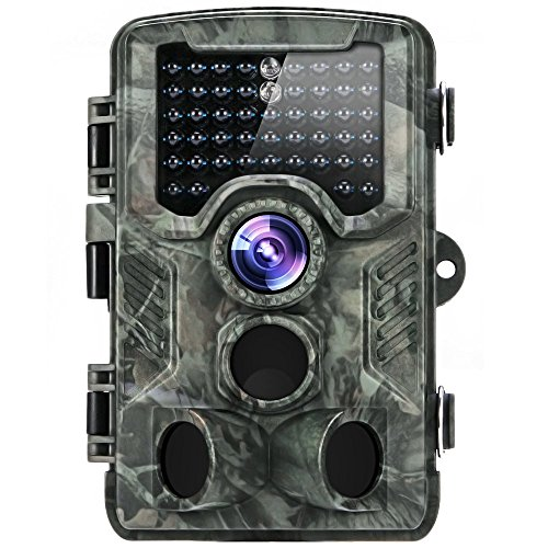 Trail Camera, 2018 Upgraded Distianert 720P 12MP Hunting Game Camera, Wildlife Camera with Upgraded 850nm IR LEDs...