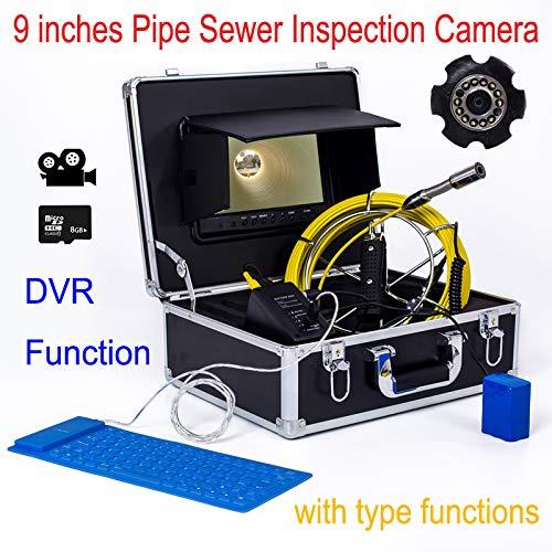 納得できる割引 B07PWSBS6G9インチ23ミリメートル工業用パイプライン下水道検知カメラIP68防水排水検知1000 TVLカメラ(15M) B07PWSBS6G, ブランドらんど:931216dc --- quiltersinfo.yarnslave.com