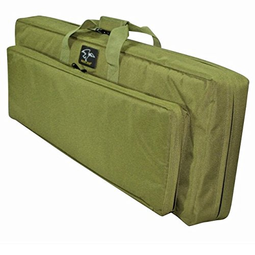 (Galati Gear Double Discreet Square Rifle Case, Olive Drab, 38